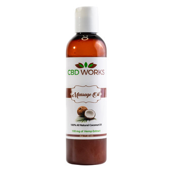 Massage Oil 200mg