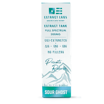 Extract Labs D8 Sour Ghost Vape