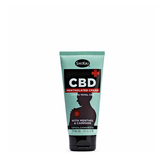 CBD Mentholated Cream - 375mg
