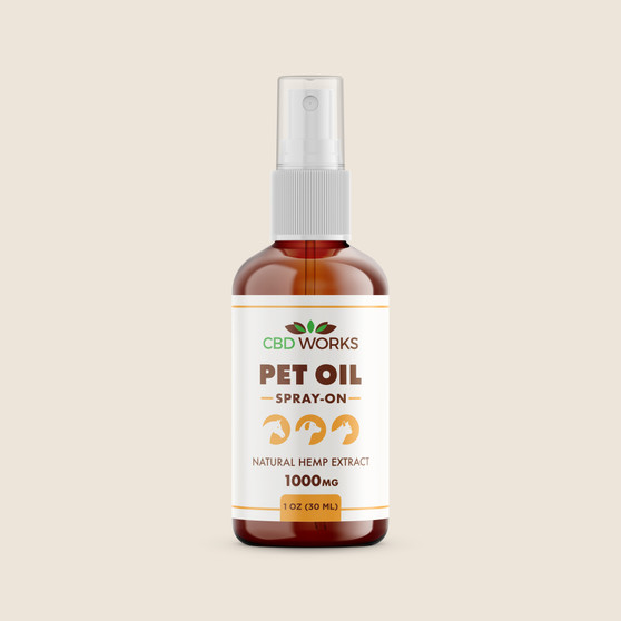 Spray Oil - Pet