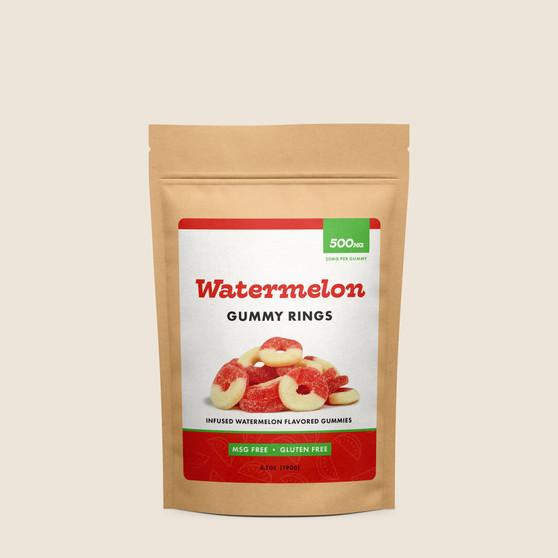 Gummy Rings - Watermelon - 500mg