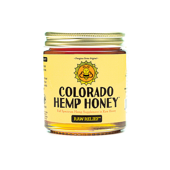 Hemp Honey - Raw Relief - 6oz