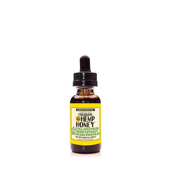 Hemp Bee Propolis Tinctures - Lemon Stress - 17mg