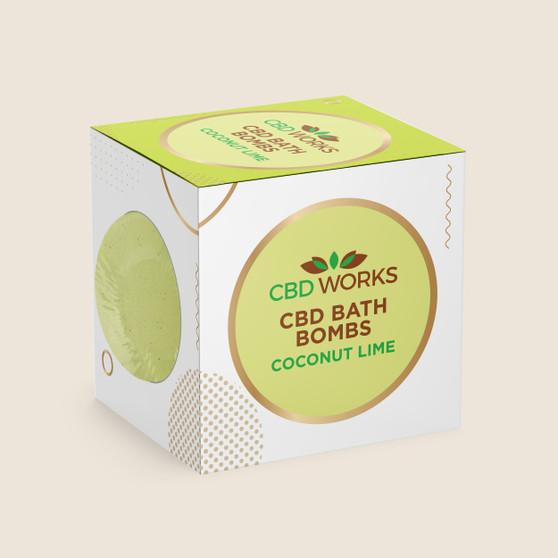 Bath Bomb - Coconut Lime