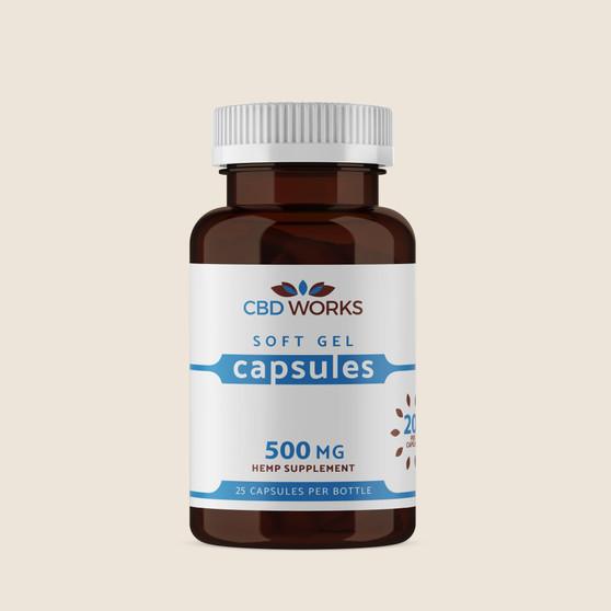 Capsules - 500mg 25mg per capsule