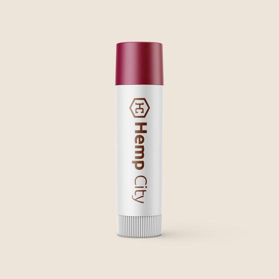 Lip Balm - All Natural Strawberry Pomegranate Mojito Flavor