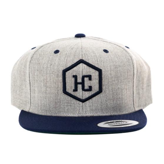 Hat - Heather/Navy