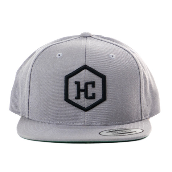 Hat - Silver/Black