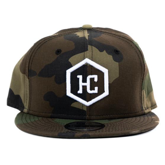 Hat - Camo/White