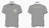 Hardtimes Logo T-Shirt - Grey Frost
