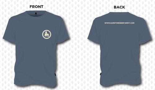 HardTimes Logo T-Shirt - Navy Frost