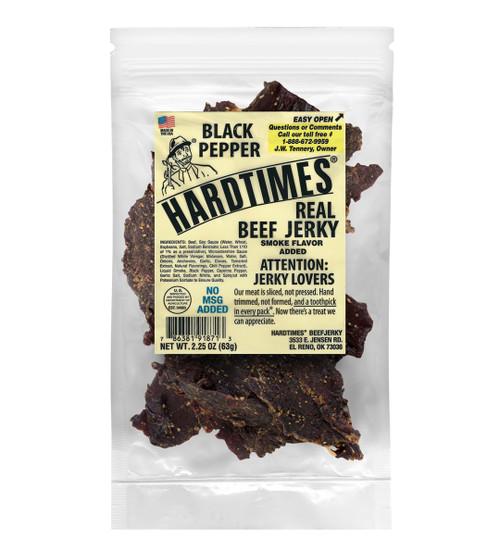 Hardtimes Black Pepper Beef Jerky