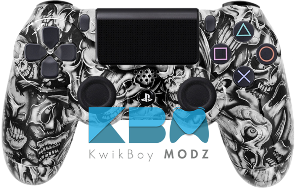 Insanity Skulls Custom PS4 Controller