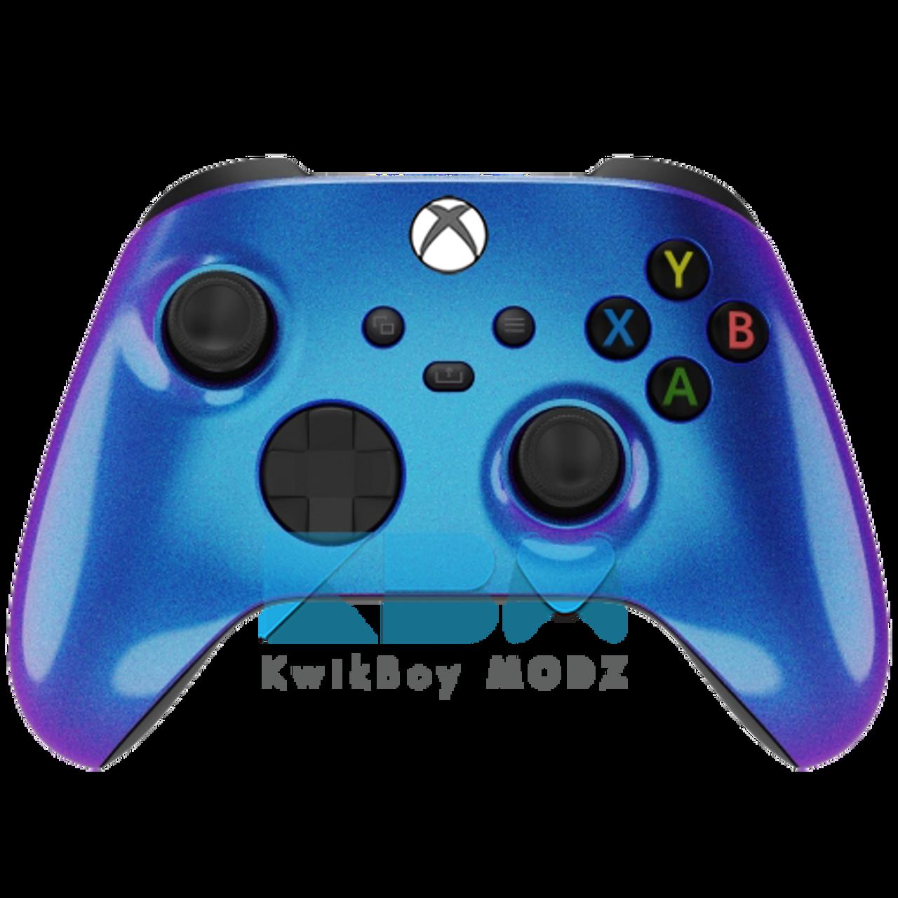 New Yellow Chameleon Custom Xbox One S Controller