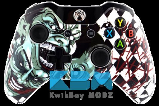 Custom Spongebob VS Patrick Xbox One Controller