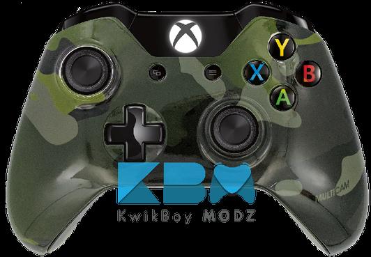 Custom Xbox One & PS4 Controllers - KwikBoy Modz