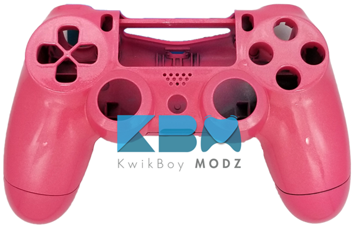 Metallic Pink PS4 Controller Shell