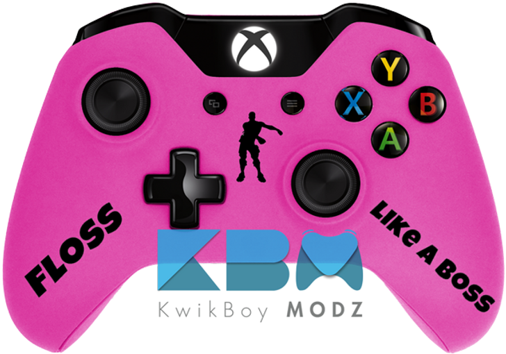 Custom Pink Fortnite Xbox One