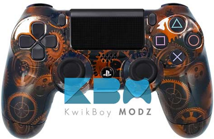 Custom Steampunk PS4 Controller
