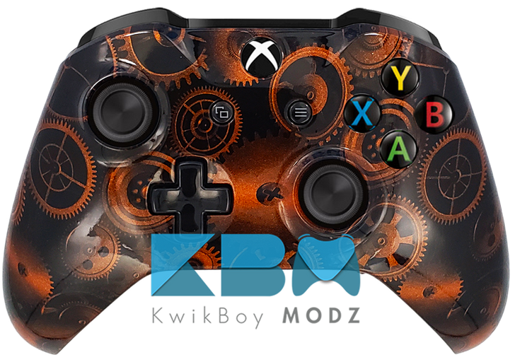 Custom Steampunk Xbox One Controller