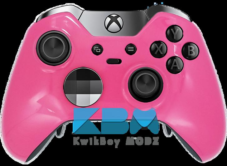 Custom Pink Elite Controller