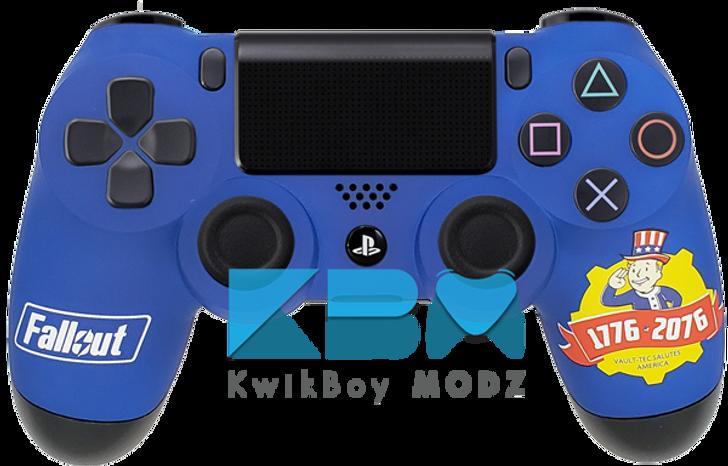 Custom Fallout 76 PS4 Controller