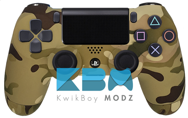 Custom Multicam PS4 Controller