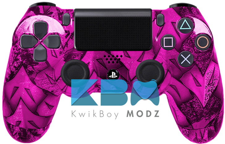 Custom Virtus Delos Pink PS4 Controller