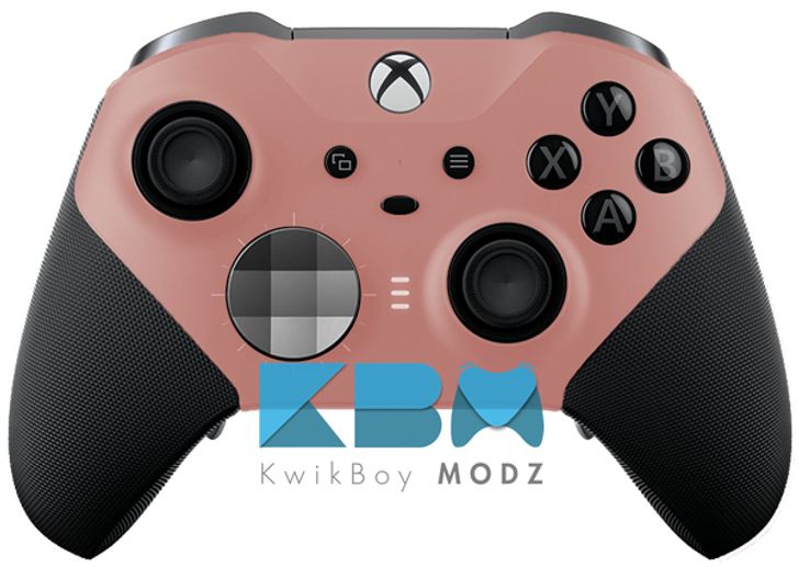 Custom Rose Gold Xbox One Elite Controller Series 2 Kwikboy Modz