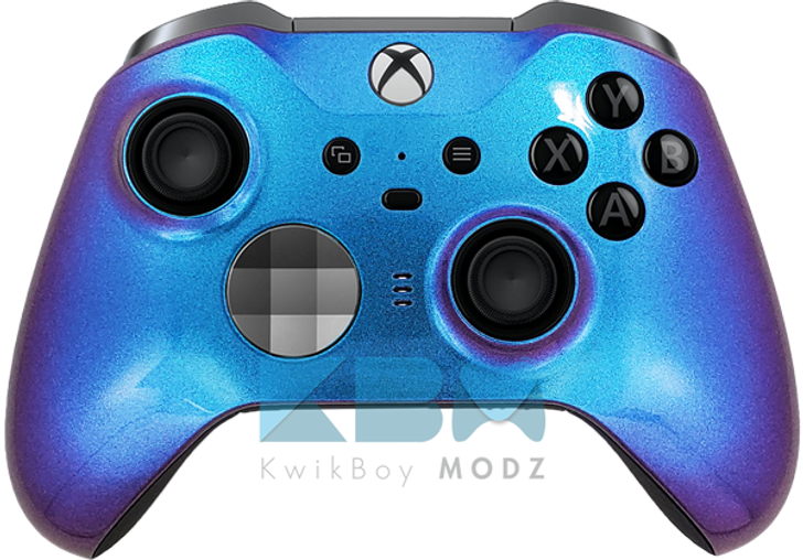 Custom Blue Chameleon Xbox One Elite Series 2