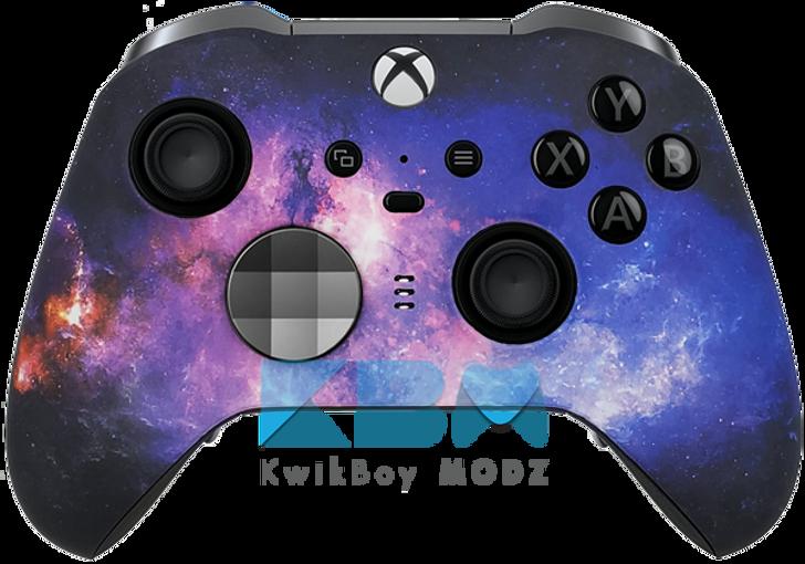 Custom Galaxy Xbox One Elite Series 2 Controller