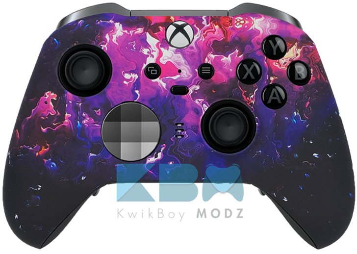 Custom Purple Haze Xbox One Elite Series 2 Controller