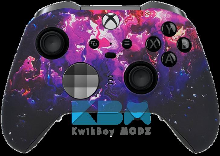 Custom Purple Haze Xbox One Elite Series 2 Controller