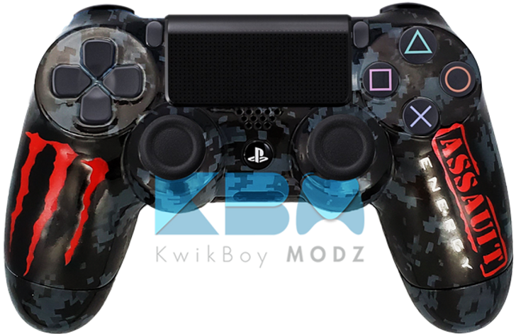Custom Monster PS4 Controller