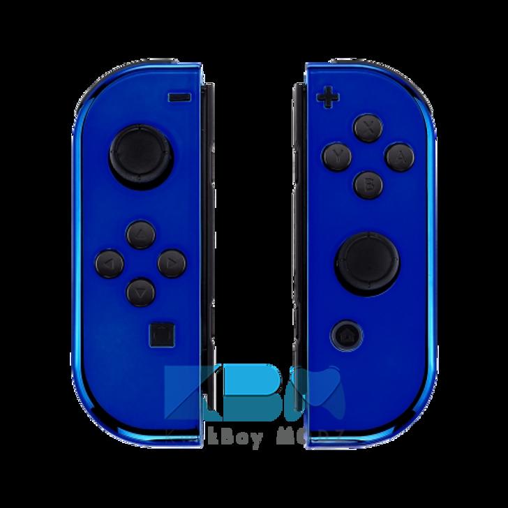 Custom Blue Chrome Joy-Cons