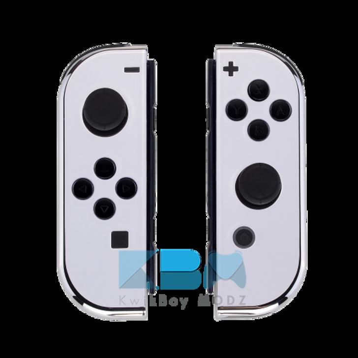 Custom Chrome Nintendo Joy-Cons