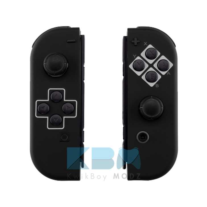 Custom Black NES Classic Joy-Cons