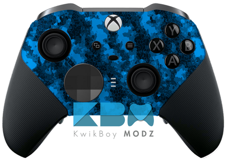 Blue Defected Xbox One Elite Series 2 Controller