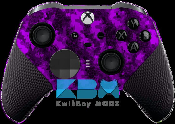 Purple Defected Xbox One Elite Series 2 Controller