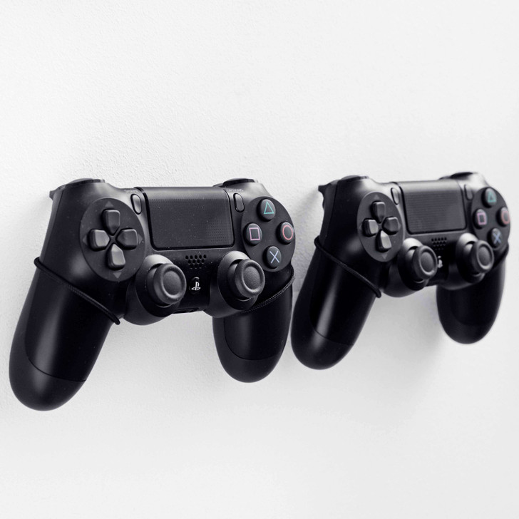 Floating Grip 2X PS4 Controller Wall Mounts