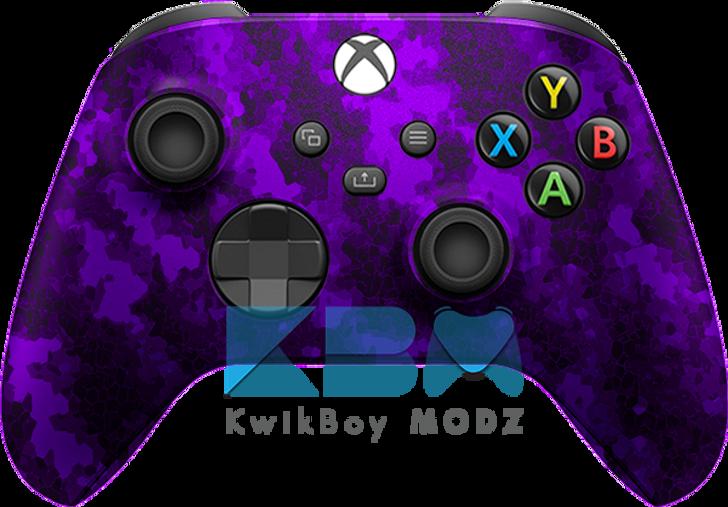 Custom Purple Defected Xbox Series X/S Controller