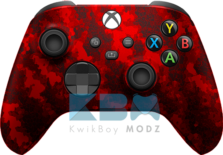 Custom Red Defected Xbox Series X/S Controller
