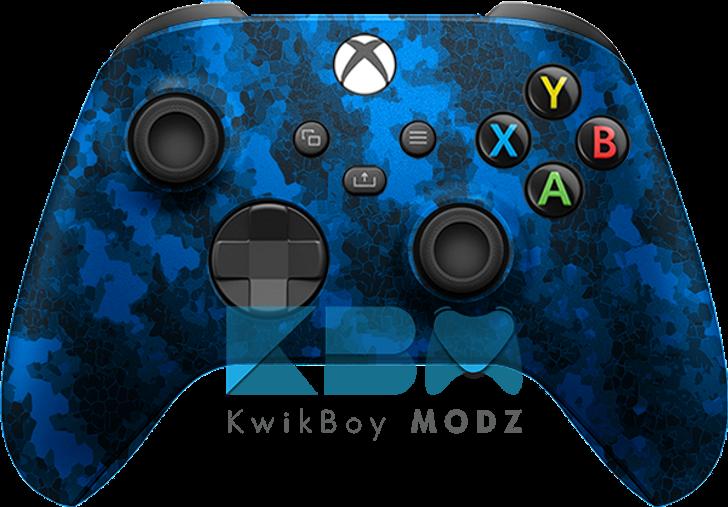 Custom Blue Defected Xbox Series X/S Controller