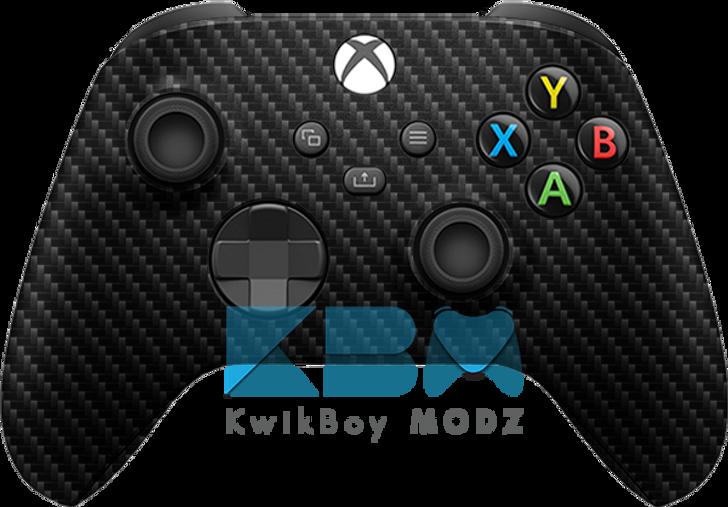 Custom Carbon Fiber Xbox Series X/S Controller