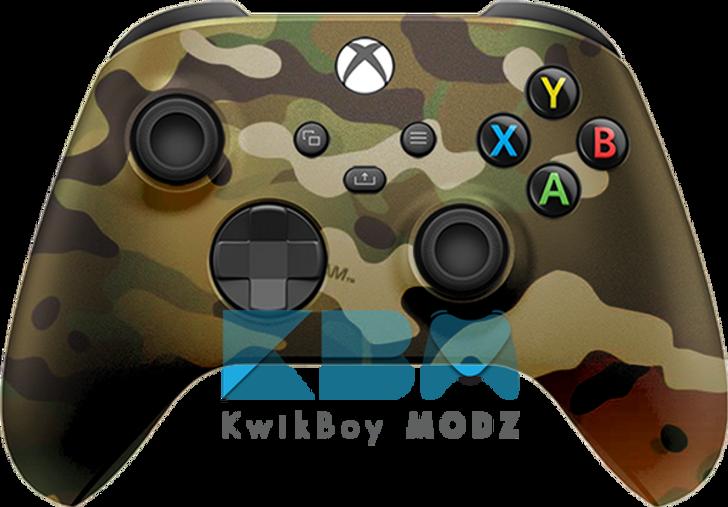Custom Multicam Xbox series X/S Controller