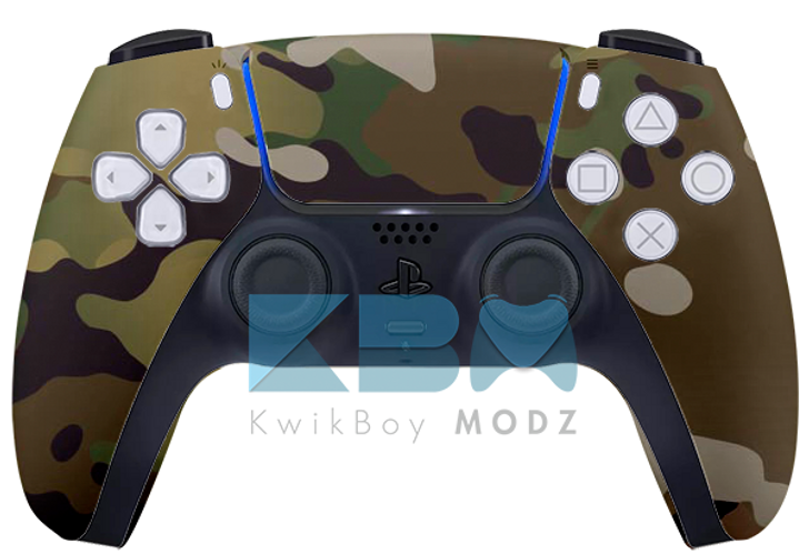 Custom Multicam DualSense PS5 Controller