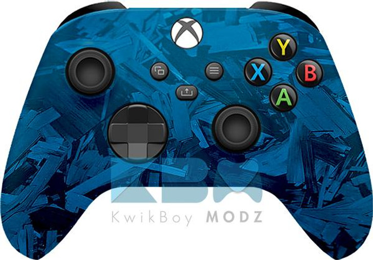 Microsoft Fracture Xbox Series X/S Controller - Blue