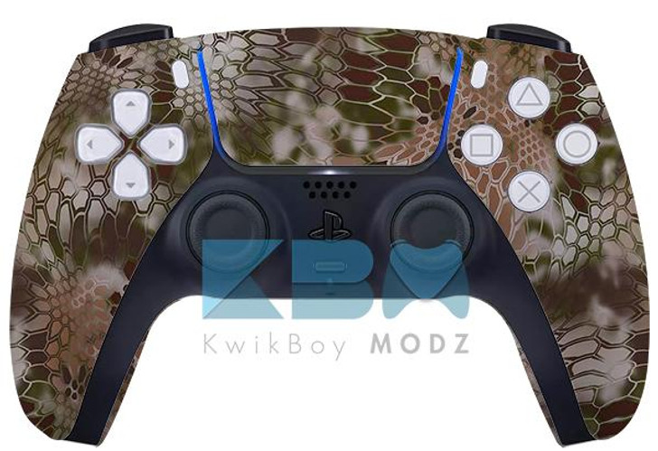 Sony Kryptek Highlander Custom PS5 Controller