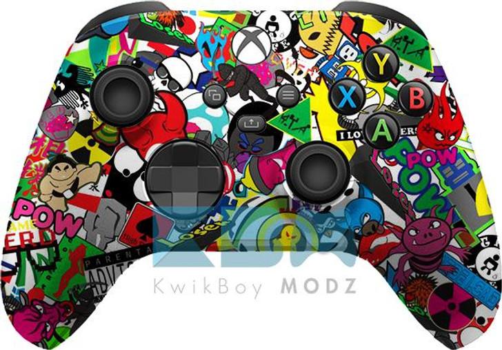 Microsoft Sticker Vandal Xbox Series X/S Controller
