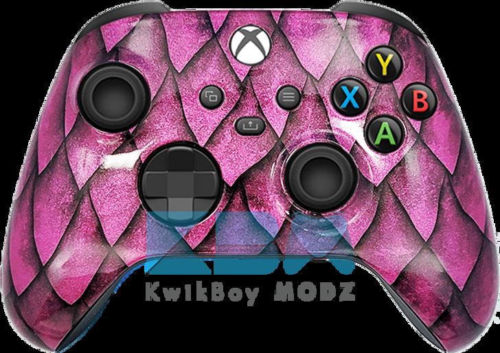 Microsoft Pink Dragon Custom Xbox Series X/S Controller